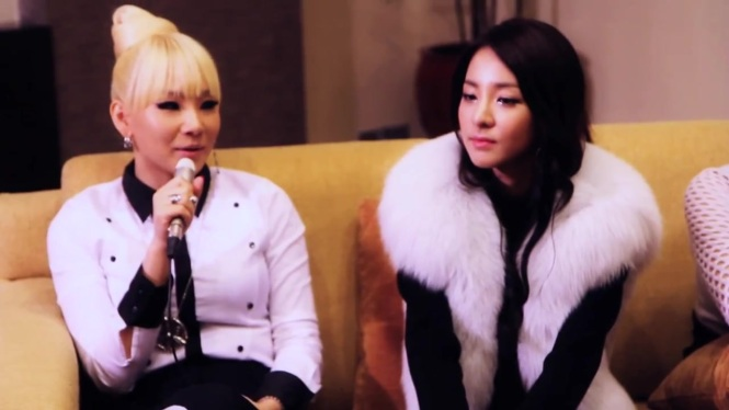 987FM interview_ Muttons meets 2NE1 for the SECOND TIME! 205