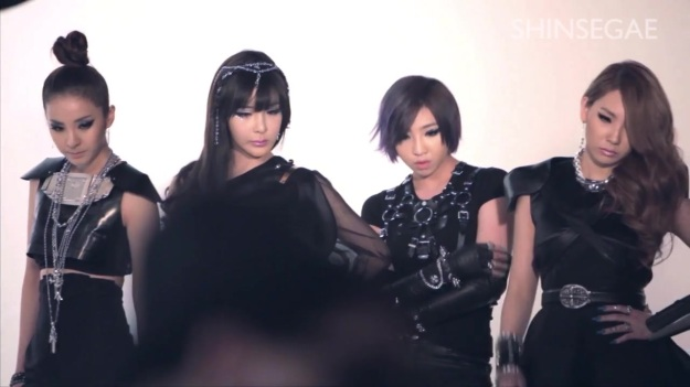 2NE1 LOVES SHINSEGAE - BEHIND THE SCENES 4322