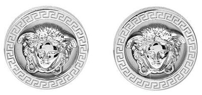 Versace Silver Earrings