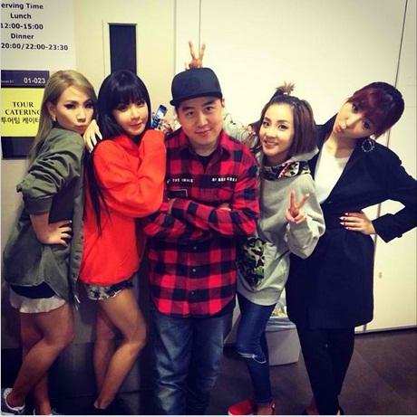 Peter Chun-Instagram-2NE1-Dara-Bom-Minzy-CL