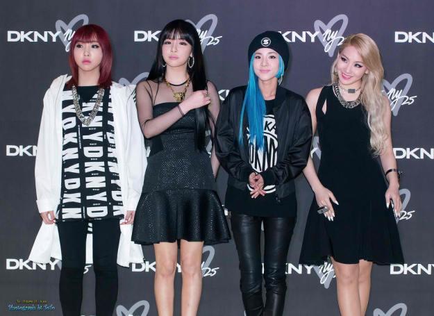 2NE1-DKNY-Event