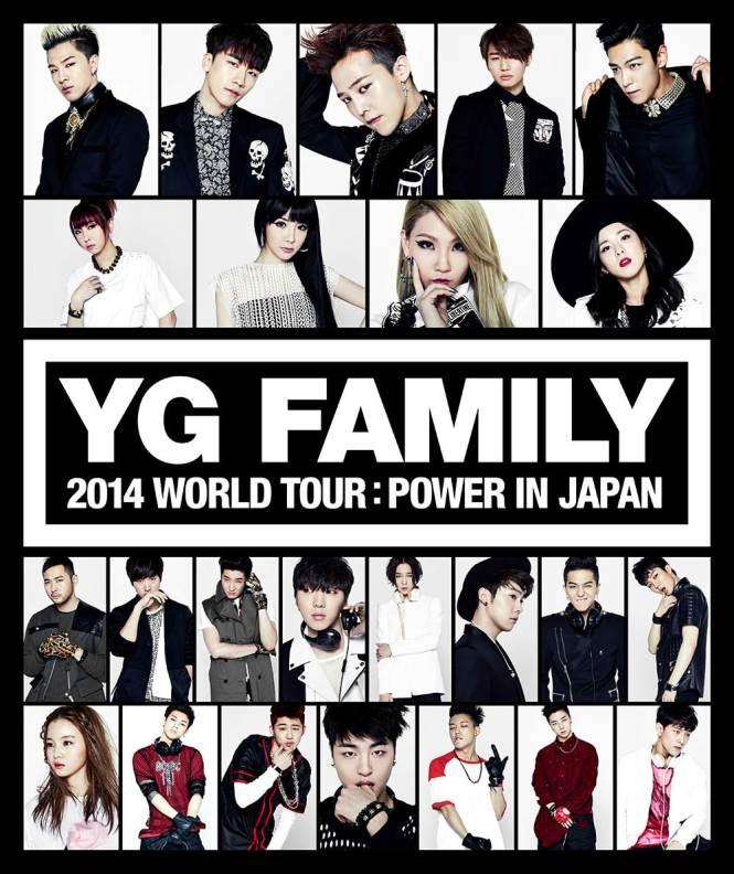 YG Family World Tour 2014 Power in Japan