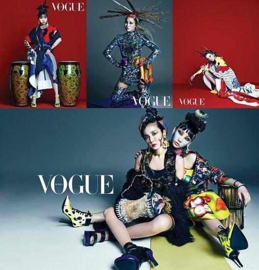 Vogue Korea-2NE1-Article