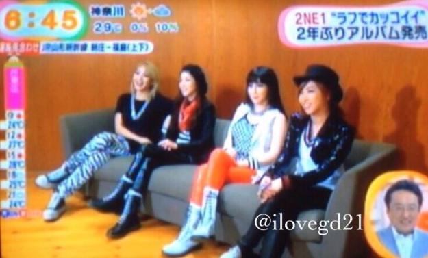 Mezamashi TV-CAPS-2NE1 6