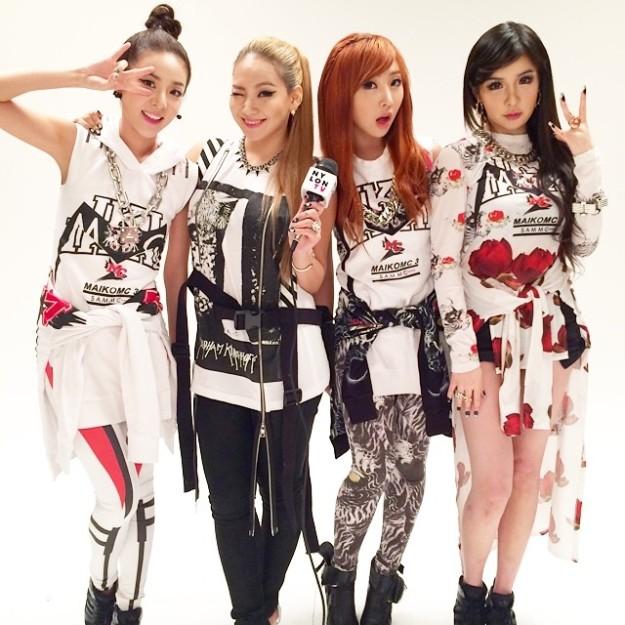 2NE1 Nylon Magazine Japan