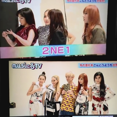 2NE1 on Asahi's Music Ru TV