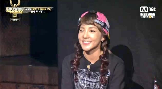 Screencaps of Pretty Dara SMTM3 2