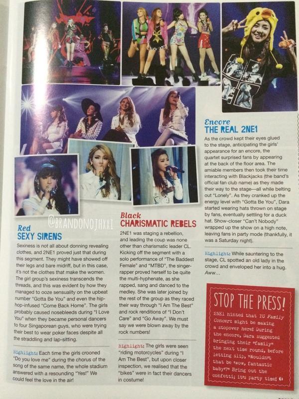 Tenn Magazine 2NE1 2