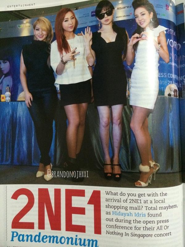Tenn Magazine 2NE1 3