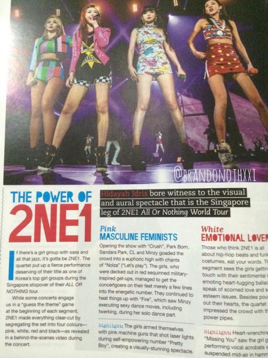 Tenn Magazine 2NE1 4