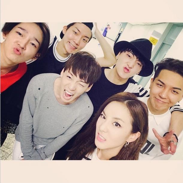 Dara with WINNER 140817