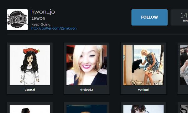 Jo Kwon Following Dara