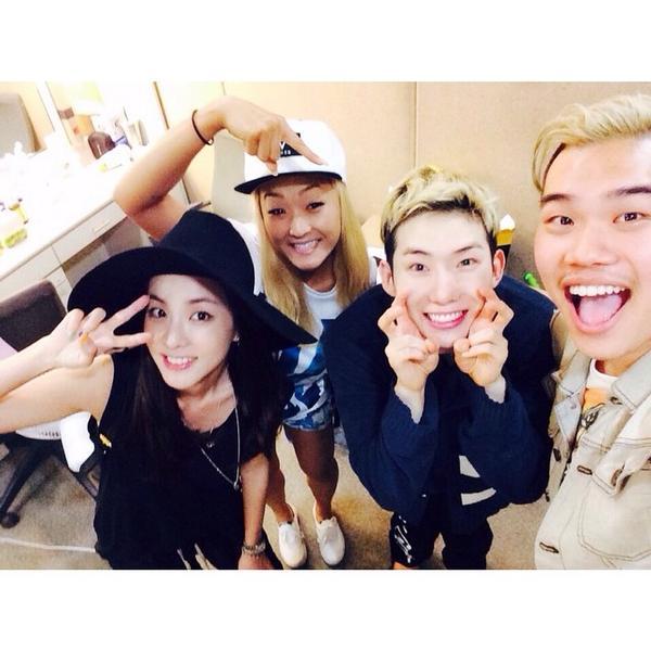 Jo Kwon Instagram Update 140819 Lydia Dara Marshall Bang