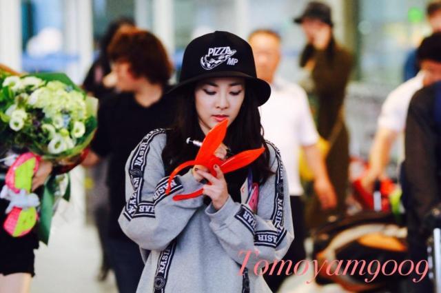 140921 - Fantaken Incheon Airport Dara