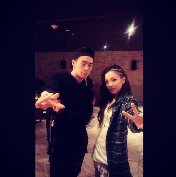 Hitech Gon with Dara Instagram Update