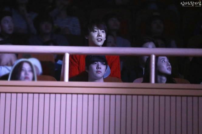Jinwoo Dara Thunder YB Rise Concert