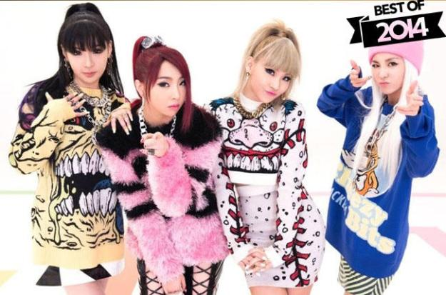 best of 2014 billboard - 2NE1