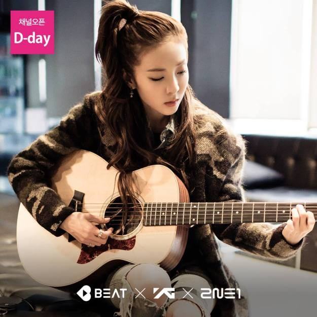2NE1 Official Page Dara x Beat