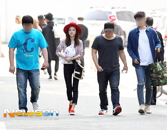 150501 Dara at KBS Music Bank 1