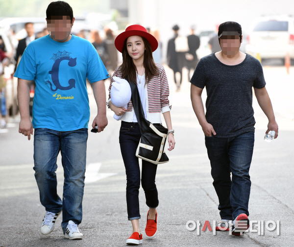 150501 Dara at KBS Music Bank 14