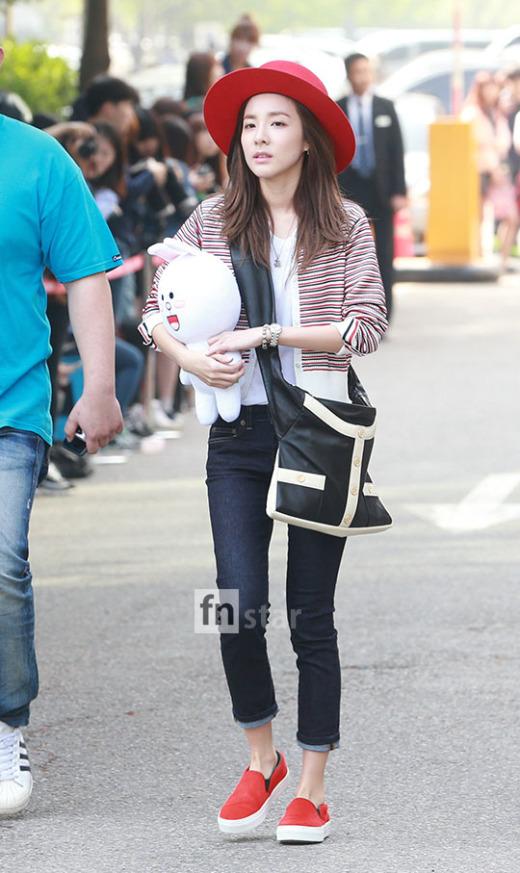 150501 Dara at KBS Music Bank 16
