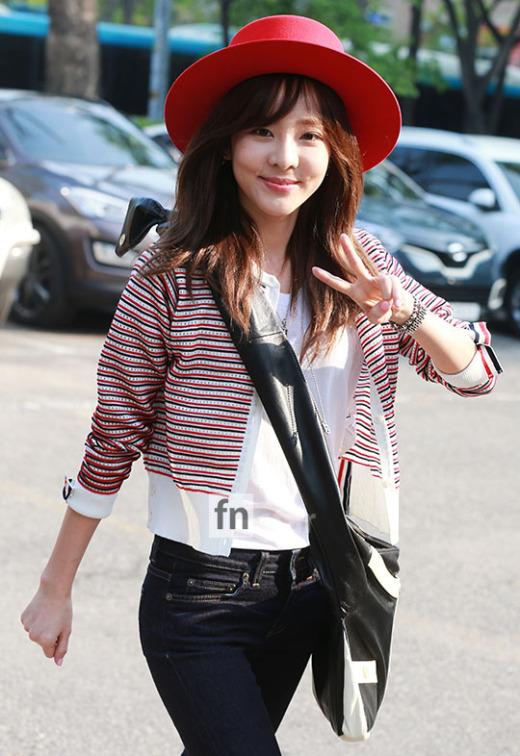 150501 Dara at KBS Music Bank 17