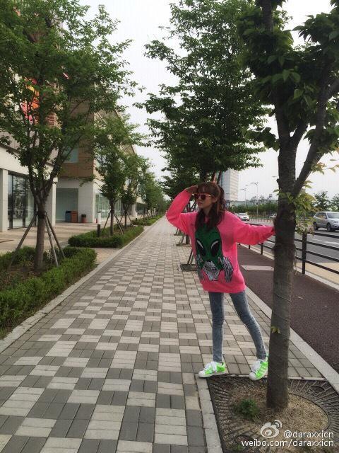 Dara Weibo 150507 2