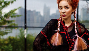 Photo w korea uploaded a preview for their 12th anniversary issue photos victorian lady sandara park for w korea november 2015 voltagebd Gallery