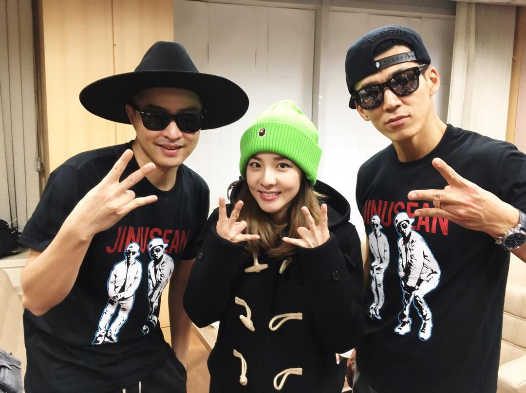 """INSTAGRAM] Ever Supportive Dara took a Photo JinuSean ~ """"Our"""