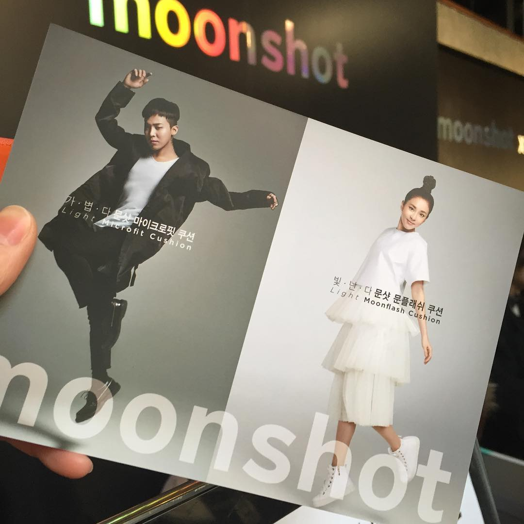 "[PHOTOS] Promotional Pictures of Dara and G-Dragon for Moonshot's ""Cushion Lounge"" Launching Party"