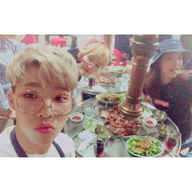 160614-Chanhyuk-Dara-AKMU-Instagram