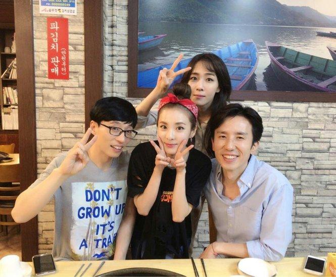 Dara-Yoo Jaesuk-Yoo Heeyeol-Kim Euna-Sugarman